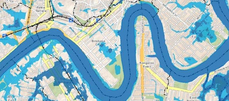 O perigo no mapeamento de riscos de inundações.