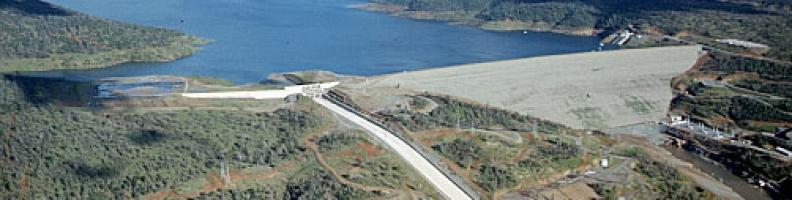 O risco de ruptura da barragem de Oroville, na Califórnia, e o conflito de uso da água.