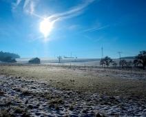 A pálida luz da manhã de Inverno